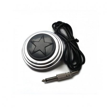 Педаль для тату-машинки Super Star Silver