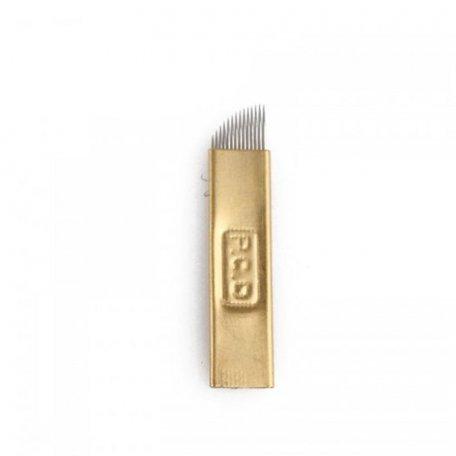 Игла для микроблейдинга PSD 14S скошенная