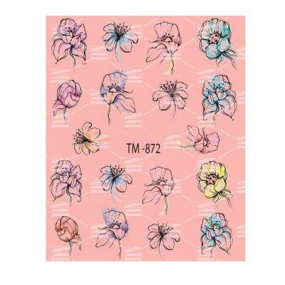 Слайдер дизайн для ногтей  TM-872
