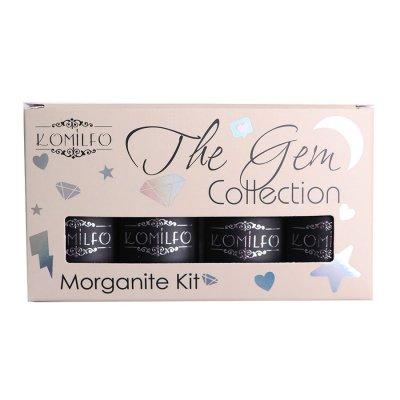 Набор Komilfo The Gem Collection Morganite Kit (peach), №021, 022, 023, 024