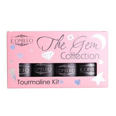 Набор Komilfo The Gem Collection Tourmaline Kit (pink), №005, 006, 007, 008