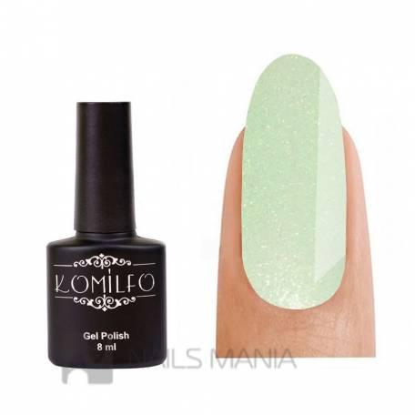 Купить Гель-лак Komilfo №GEM011 (lime crush), 8 мл