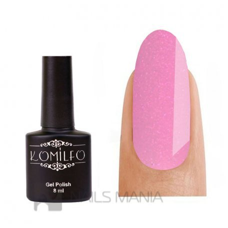 Гель-лак Komilfo №GEM007 (pink crush), 8 мл