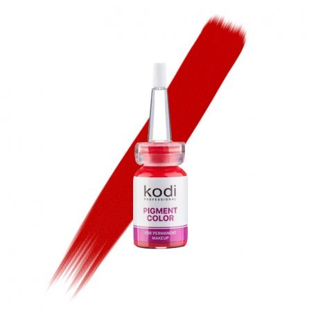 Купить Пигмент для губ Kodi L15 (рубиновый красный), 10 мл