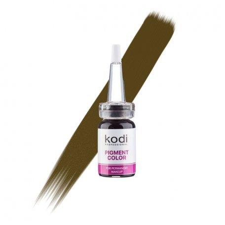 Пигмент для бровей Kodi B09 (Средне-коричневый), 10 мл