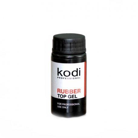 Rubber Top Kodi - Каучуковое верхнее покрытие для гель лака, 14 мл.