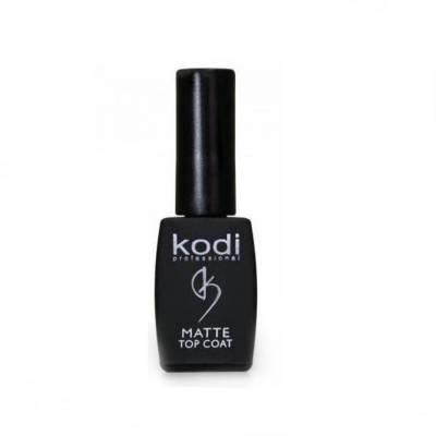 Матовый топ для гель-лака Kodi Matte Top Coat (с липким слоем), 8 мл