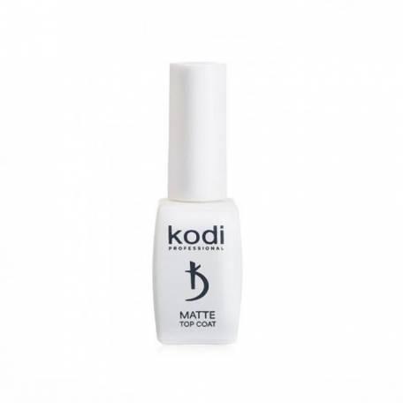 Купить Матовый топ для гель-лака Kodi Matte Top Coat Velour, 8 мл