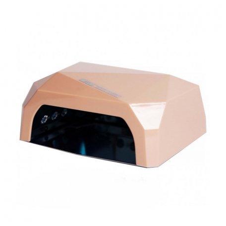 УФ LED+CCFL лампа (таймер 10, 30, 60 сек) 36 Вт (бежевая)