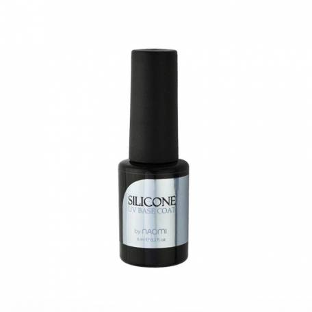 Купити База для гель-лаку Naomi Silicone UV Base Coat, 6 мл