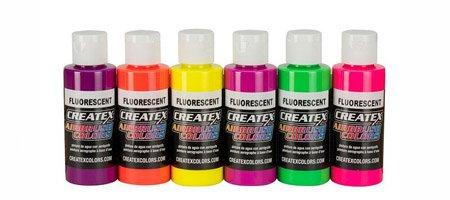 Краска для аэрографа Fluorescent (флуоресцентная)