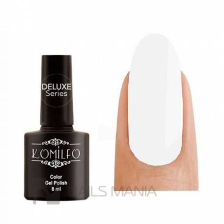 Купить Гель-лак Komilfo French Collection №F010 (яркий белый, очень плотный, для улыбки), 8 мл