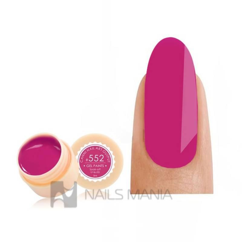 Купить Гель-краска CANNI 552 (малиновая)