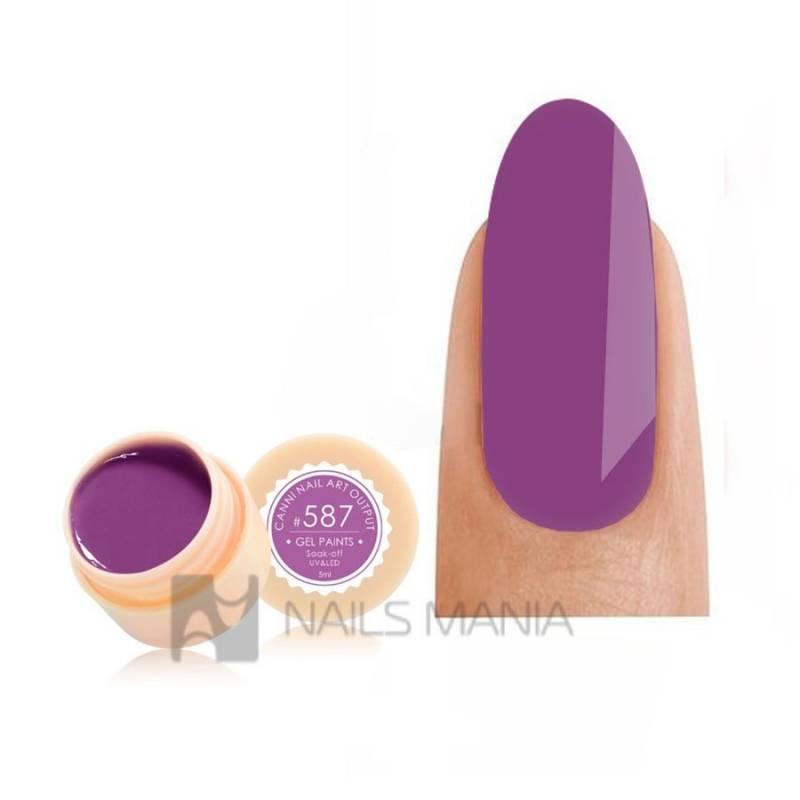 Купить Гель-краска CANNI 587 пастельная пурпурная