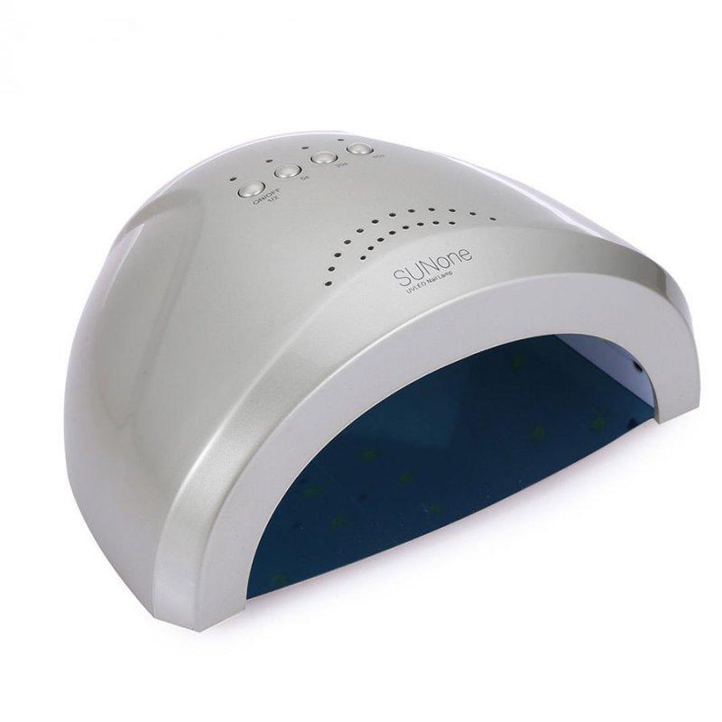 Купить UF/LED лампа SUNone Professional  48 ВТ (серебро)