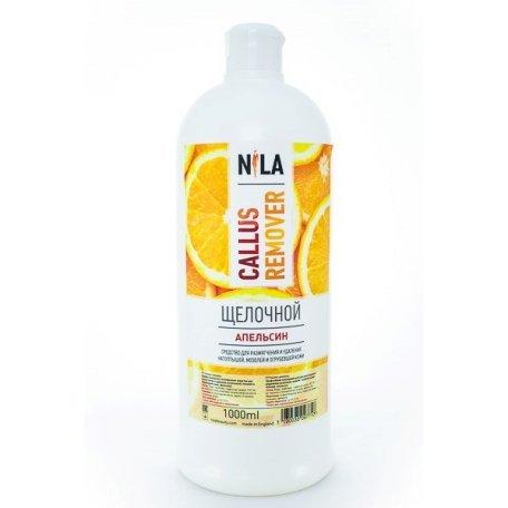 Средство для педикюра Nila Callus remover щелочной (Апельсин) 1000 мл