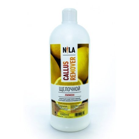 Средство для педикюра Nila Callus remover щелочной (Лимон) 1000 мл