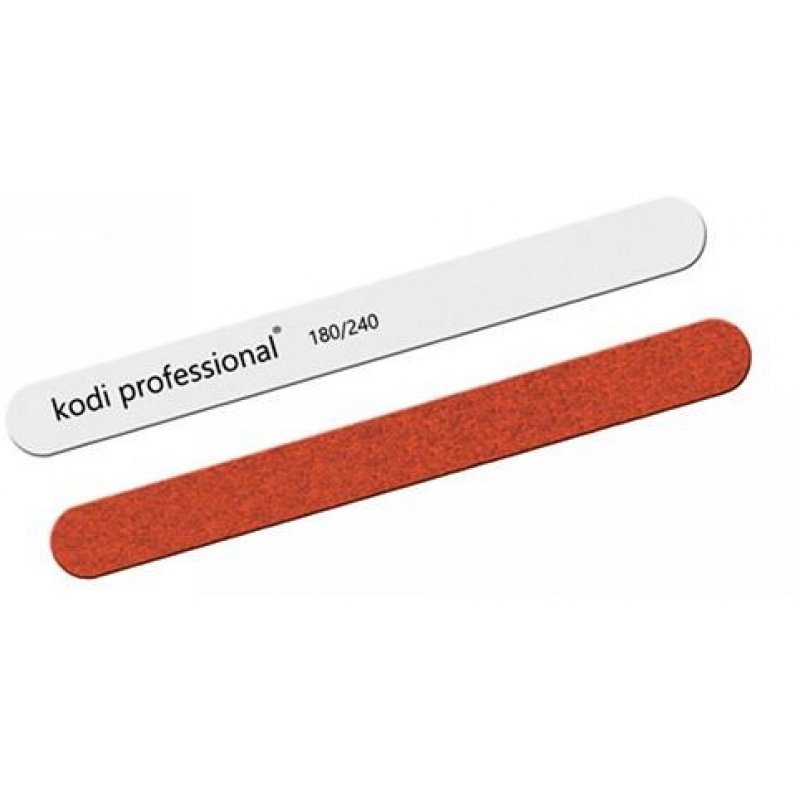 Пилка для ногтей Прямая White-Brown 180/240 купить интернет-магазине Nailsmania.ua с бесплатной доставкой по Украине.