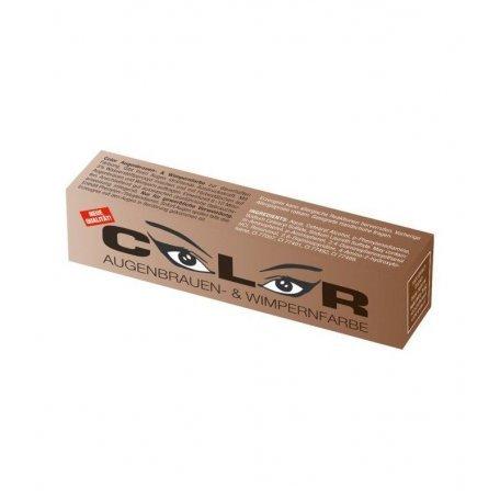 Краска для бровей и ресниц натурально-коричневая Color Comair, 15 мл купить интернет-магазине Nailsmania.ua с бесплатной доставкой по Украине.