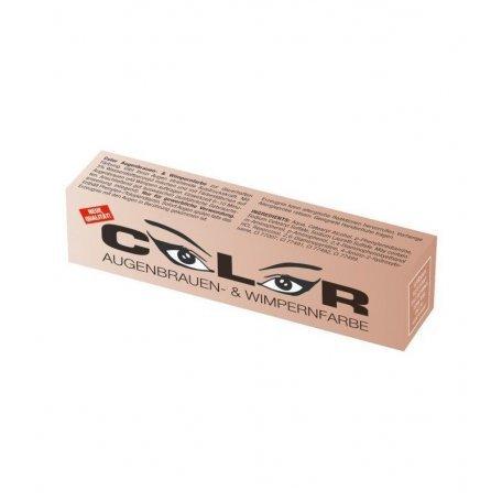Краска для бровей и ресниц светло-коричневая Color Comair, 15 мл купить интернет-магазине Nailsmania.ua с бесплатной доставкой по Украине.