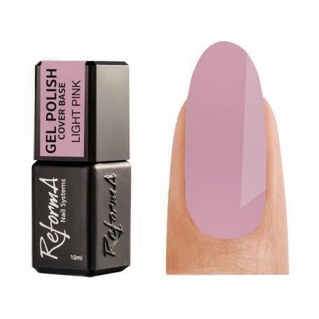 Купити Камуфлююча база для гель-лаку Reforma Cover Base Light Pink