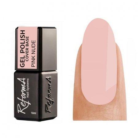 Купити Камуфлююча база для гель-лаку Reforma Cover Base Pink Nude