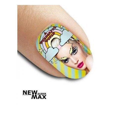 Слайдер дизайн для ногтей SF 617 купить интернет-магазине Nailsmania.ua с бесплатной доставкой по Украине.