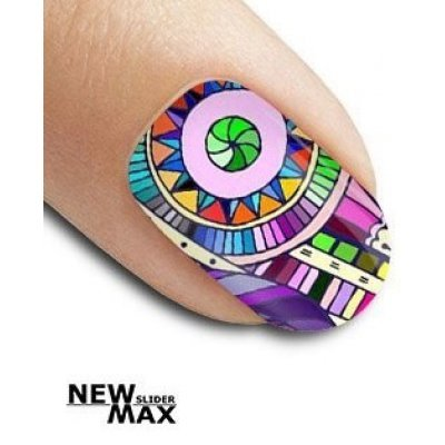 Слайдер дизайн для ногтей OF 713