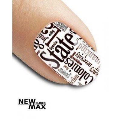 Слайдер дизайн для ногтей SF 106