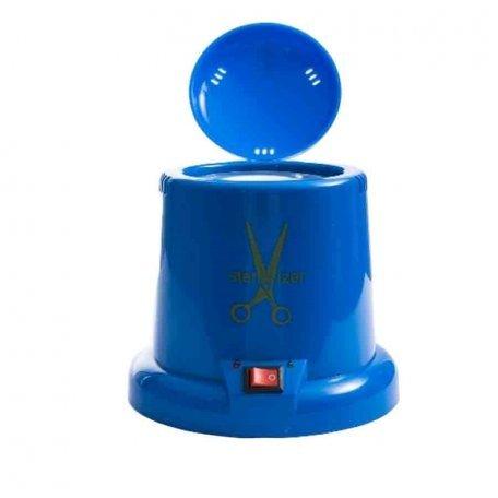 Стерилизатор кварцевый для маникюрных инструментов синий (пластиковый)