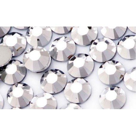 Стразы Swarovski (премиум качество Hong Kong) - Стразы Swarovski ss 3 Silver 50 шт