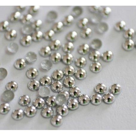 Маталлостразы (серебро) 1.5 мм 100 шт. купить интернет-магазине Nailsmania.ua с бесплатной доставкой по Украине.