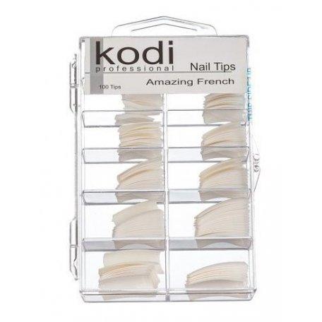 Типсы French Tips Kodi 100шт купить интернет-магазине Nailsmania.ua с бесплатной доставкой по Украине.