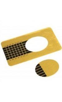 Формы узкие для наращивания ногтей, 10 шт