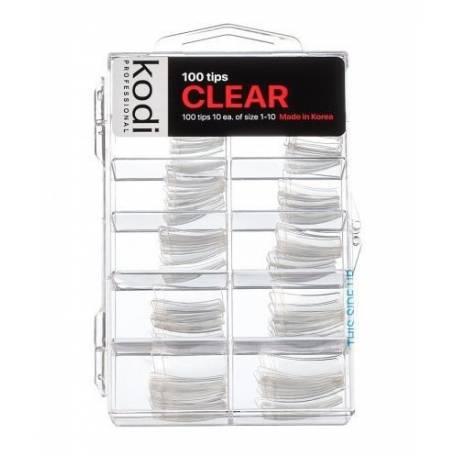 Купить Типсы Kodi прозрачные 100 шт
