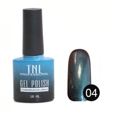 Гель-лак TNL - Chameleon Effect №04, 10 мл купить интернет-магазине Nailsmania.ua с бесплатной доставкой по Украине.