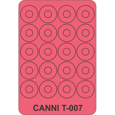 Трафарет для маникюра Т-007