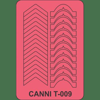 Трафарет для маникюра Т-009