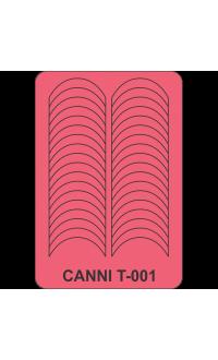 Трафарет для манікюру Т-001