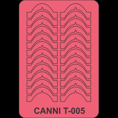 Трафареты для маникюра Canni T-005