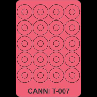 Трафареты для маникюра Canni T-007