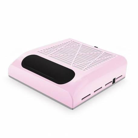 Купити Витяжка для манікюру Simei 858-8 з НЕРА-фільтром 80W (рожева)