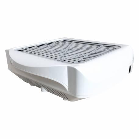 Купити Витяжка для манікюру Simei 858-2 з НЕРА-фільтром 80W (біла)