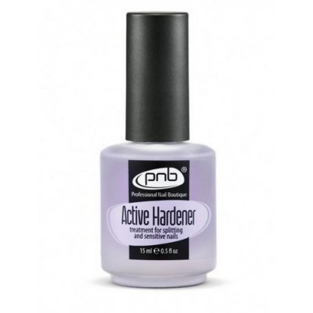 Active Hardener  PNB 15 ml (Средство для  укрепления ломких и слоящихся ногтей) купить интернет-магазине Nailsmania.ua с бесплатной доставкой по Украине.