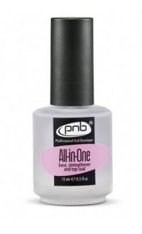 All-in-One PNB 15 ml (3-в-1 основа, укрепитель, закрепитель)