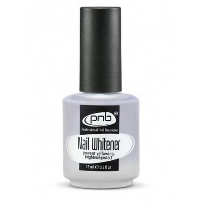 Nail Whitener PNB 15 ml (Отбеливающее покрытие для ногтей) купить интернет-магазине Nailsmania.ua с бесплатной доставкой по Украине.
