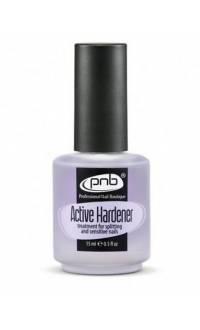 Средство для укрепления ломких и слоящихся ногтей PNB Active Hardener 15 мл