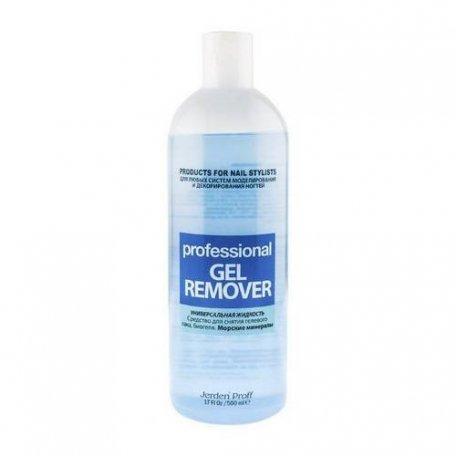 Средство для удаления гель-лака Remover Jerden Proff  500 ml (Морские минералы)
