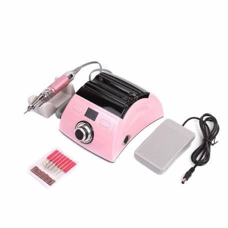 Купить Фрезер для маникюра и педикюра Nail Drill ZS-710 PRO 45000 об/мин (Розовый)