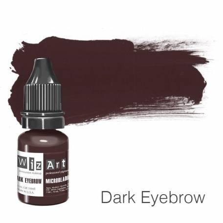 Купить Пигмент для татуажа WizArt Microblading Dark Eyebrow 10 мл